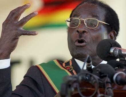 Robert Mugabe /AFP