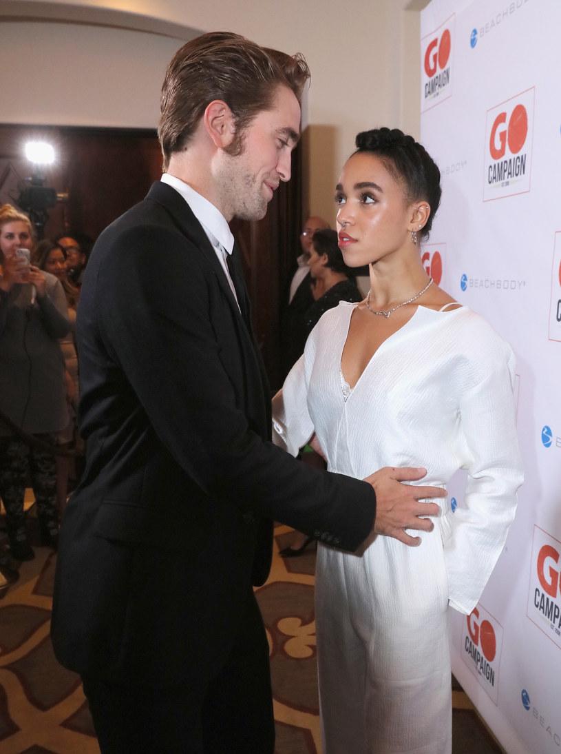 Robert Pattinson i FKA Twigs /Mark Davis /Getty Images