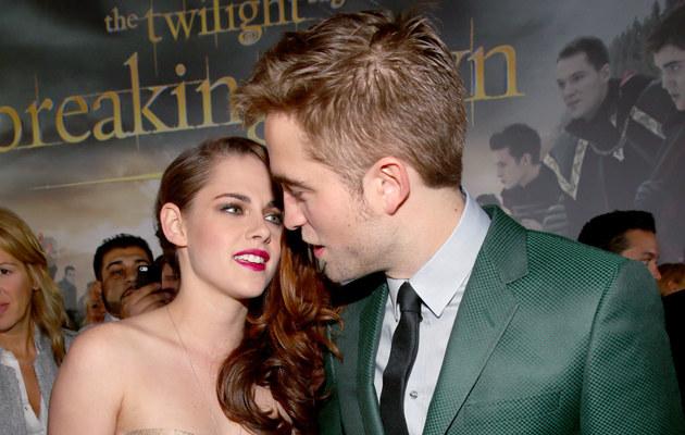 Robert Pattinson i Krisen Stewart kiedyś byli parą /Christopher Polk /Getty Images