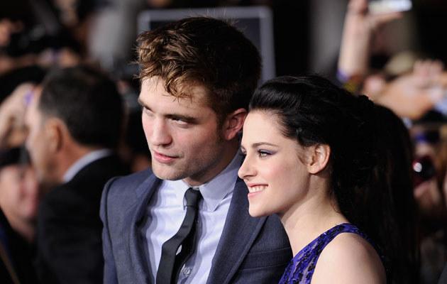 Robert Pattinson i Kristen Stewart /Frazer Harrison /Getty Images