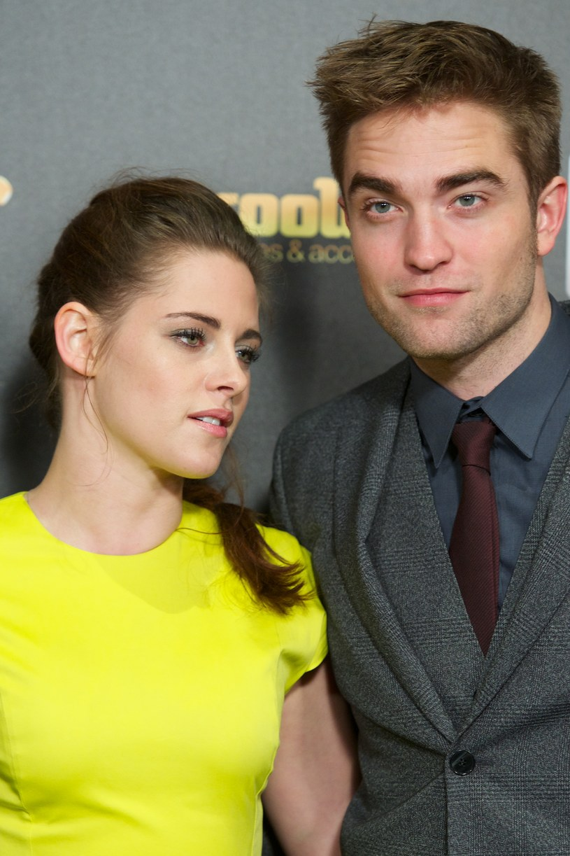 Robert Pattinson i Kristen Stewart /Carlos Alvarez /Getty Images