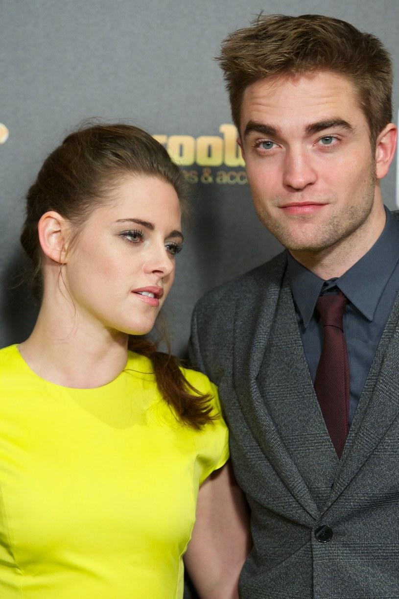 Robert Pattinson i Kristen Stewart /Carlos Alvarez /Getty Images