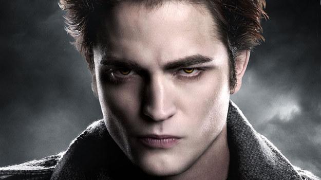 """Robert Pattinson jako Edward Cullen w """"Zmierzchu"""" /materiały dystrybutora"""