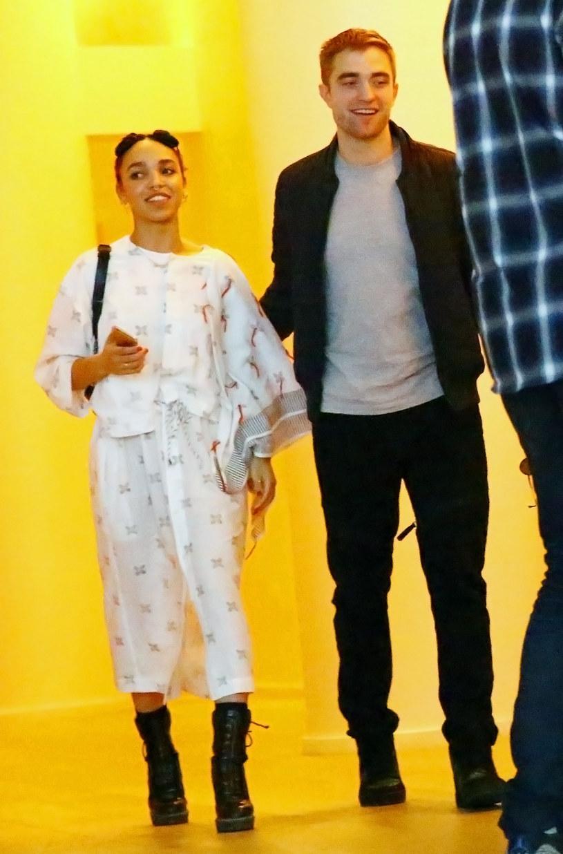Robert Pattinson niedawno oświadczył się FKA Twigs /Astrid Stawiarz /Getty Images