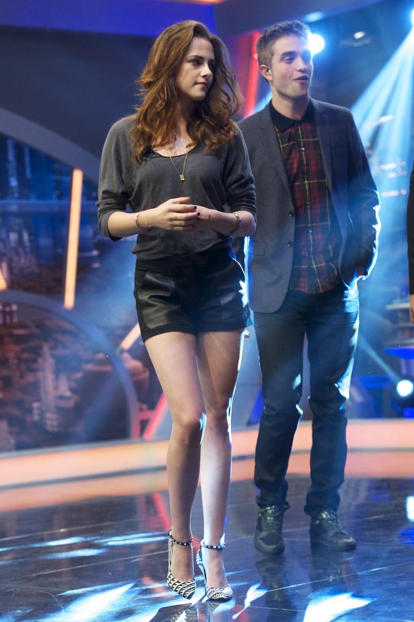 Robert Pattinson z byłą dziewczyną Kristen Stewart /Getty Images