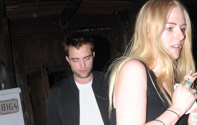Robert Pattinson z koleżanką Kristen Stewart /David Tonnessen/Monterotti, PacificCoastNews /East News