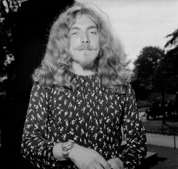 Robert Plant w 1970 roku (fot. Roger Jackson) /Getty Images