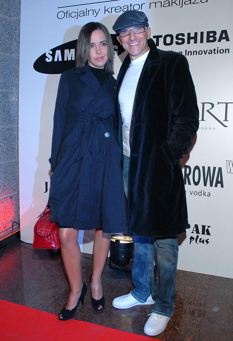 Robert Rozmus z byłą żoną Ewą /Andras Szilagyi /MWMedia