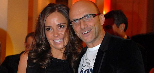 Robert Rozmus z żoną Ewą Kwiatkowską, fot. Andrzej Szilagyi  /MWMedia
