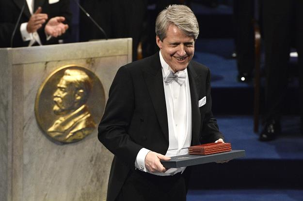 Robert Shiller odbiera Nobla z ekonomii 2013 r. Fot. Pascal Le Segretain /Getty Images/Flash Press Media