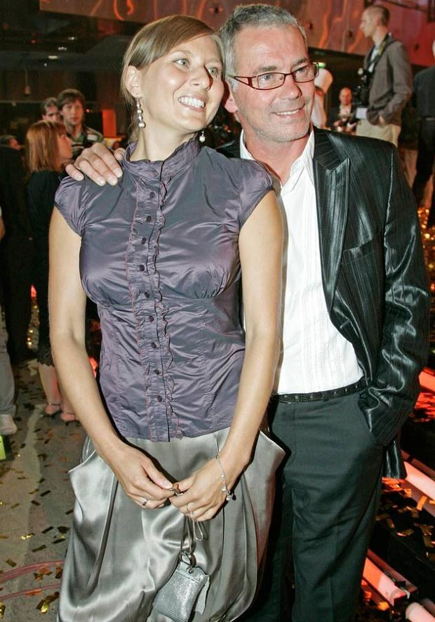 Robert w 2008 roku z drugą żoną. Będzie zazdrosna o pierwszą? Fot. Niemiec  /AKPA