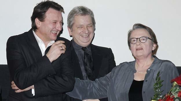 Robert Więckiewicz i producent Juliusz Machulski będą towarzyszyć Agnieszce Holland w Hollwyood /AKPA