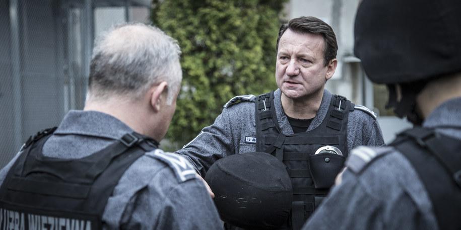 Robert Więckiewicz na planie filmu /fot. Jacek Drygała /Materiały prasowe