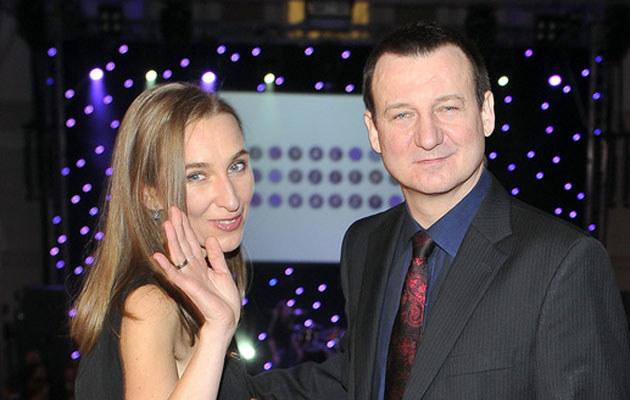 Robert Więckiewicz z żoną /Kurnikowski /AKPA