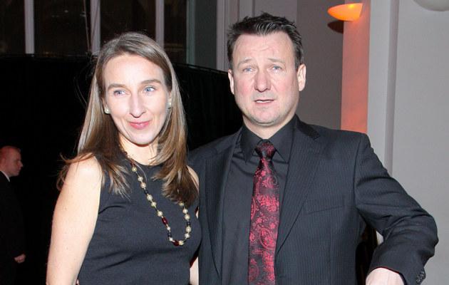 Robert Więckiewicz z żoną /Paweł Przybyszewski /MWMedia