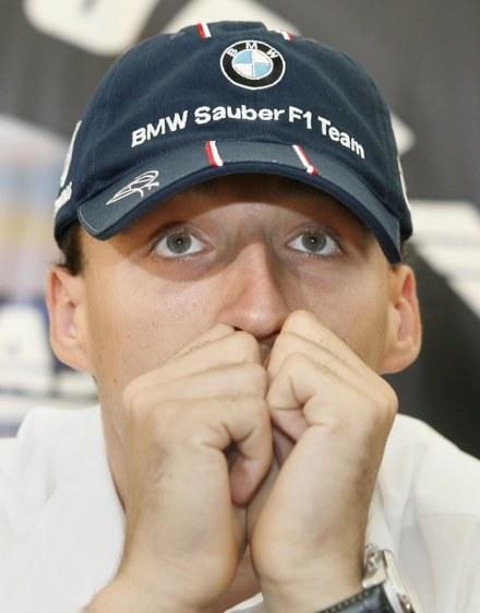 Robert zastanowi się, czy zostać w BMW-Sauber. Fot. Piotr Bławicki. /Agencja SE/East News