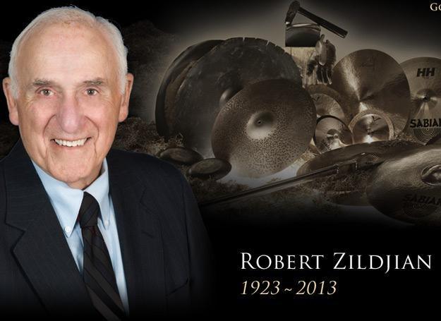 Robert Zildjian w lipcu skończyłby 90 lat /
