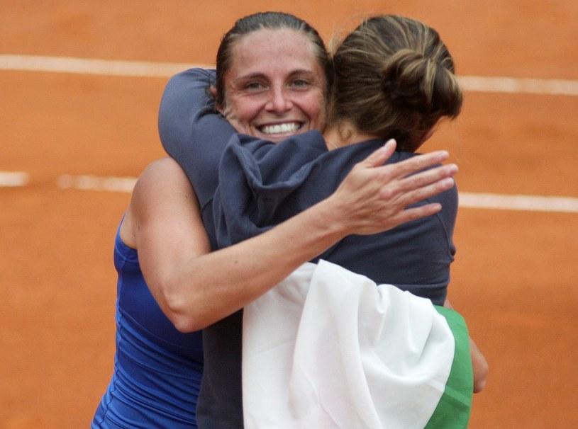 Roberta Vinci i Sara Errani /AFP