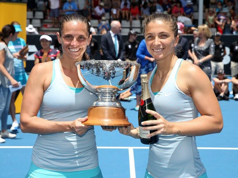 Roberta Vinci (z lewej) i Sara Errani /AFP