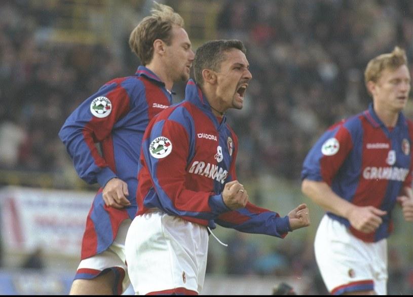 Roberto Baggio (na pierwszym planie) /Getty Images
