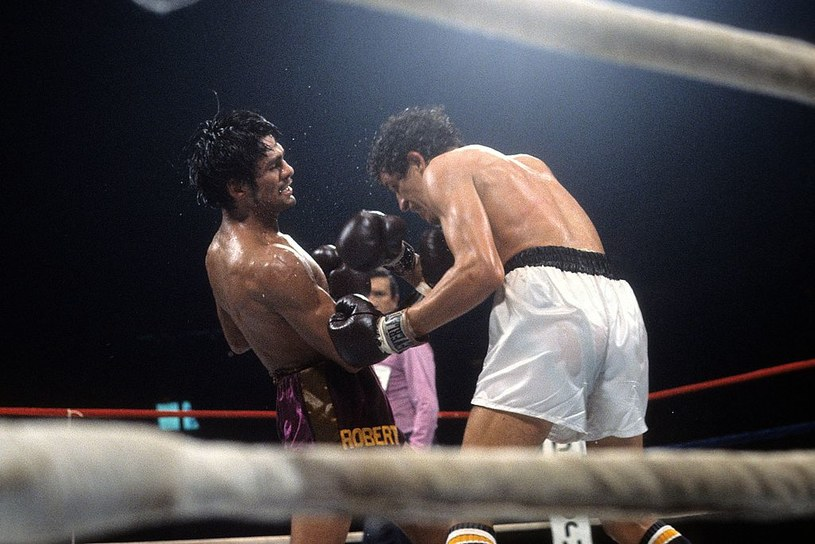 Roberto Duran (z lewej) /Getty Images