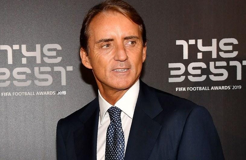 Roberto Mancini, selekcjoner reprzentacji Włoch /AFP