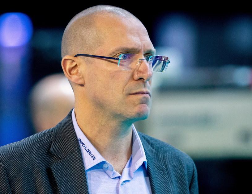 Roberto Piazza, trener PGE Skry Belchatów / Andrzej Grygiel /PAP