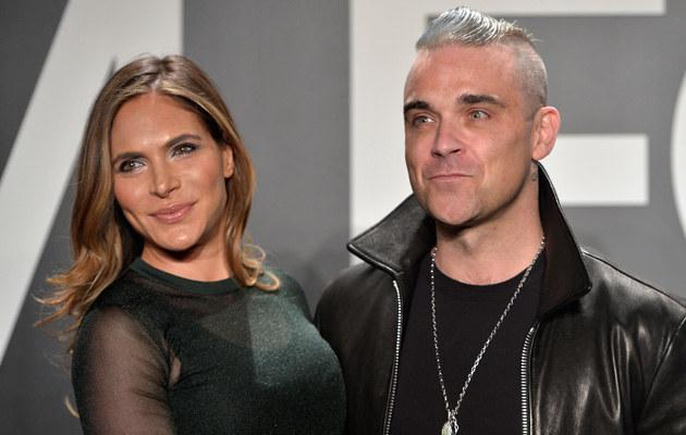 Robie Williams z żoną /Charley Gallay /Getty Images