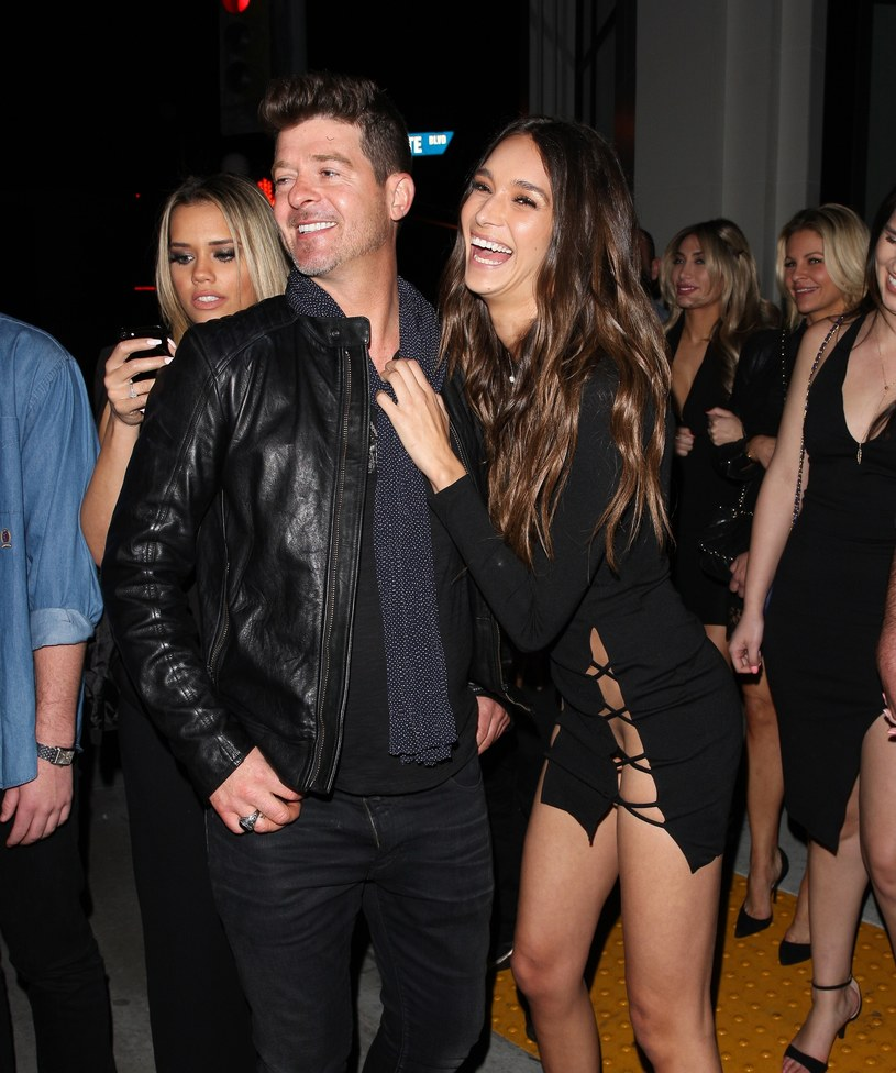 Robin Thicke i April Love Geary /East News