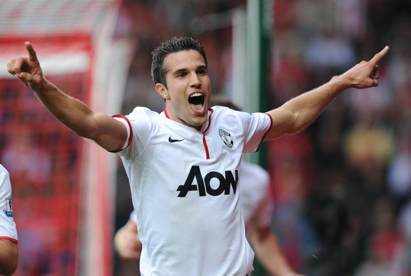 Robin van Persie, snajper Manchesteru United /AFP