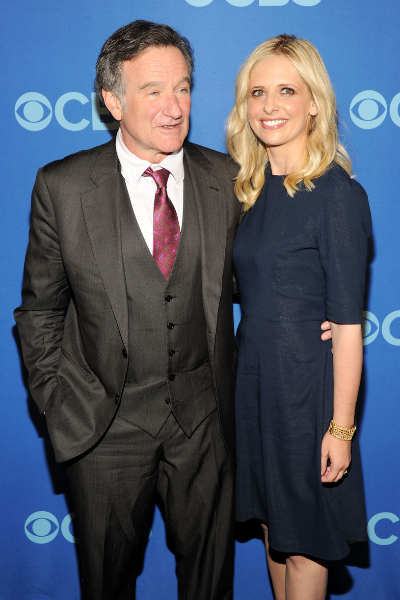 Robin Williams i Sarah Michelle Gellar /Ben Gabbe /Getty Images