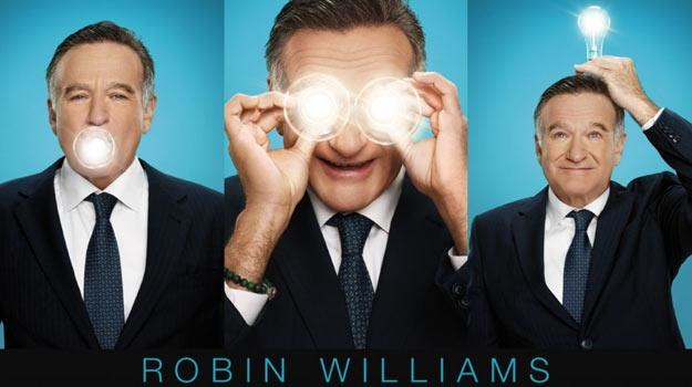 """Robin Williams miał przyjąć rolę w """"The Crazy Ones"""" z powodu """"rachunków do zapłacenia"""". /materiały prasowe"""