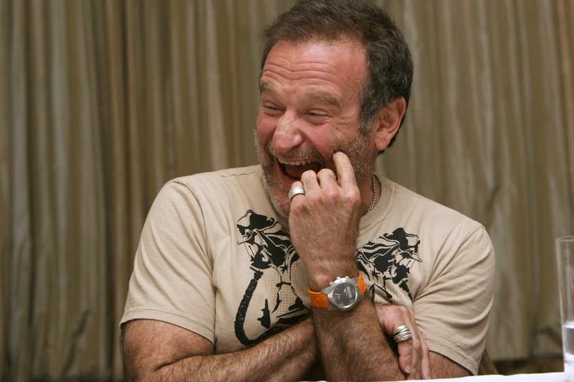Robin Williams zmagał się z depresją /Armando Gallo /Agencja FORUM