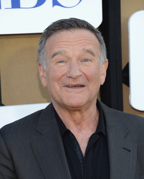 Robin Williams /- /Getty Images