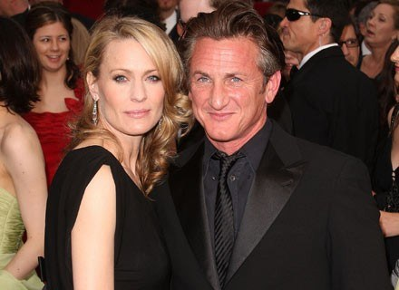 Robin Wright Penn i Sean Penn /Getty Images/Flash Press Media