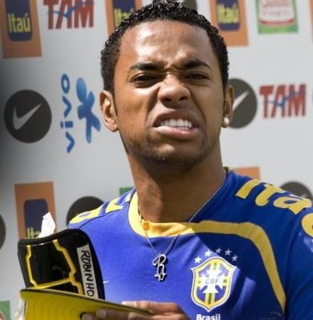 Robinho - czy to wyrzucone w błoto 42 miliony? /AFP
