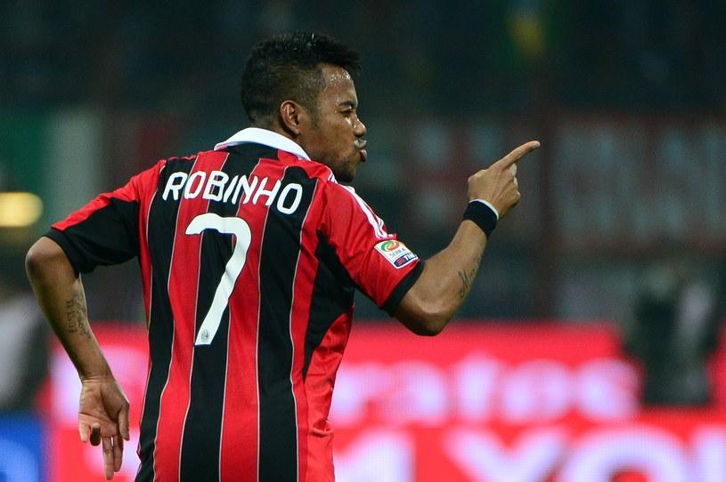 Robinho strzelił zwycięskiego gola w meczu z Juventusem /AFP