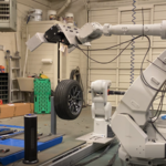 Robot do szybkiej wymiany opon