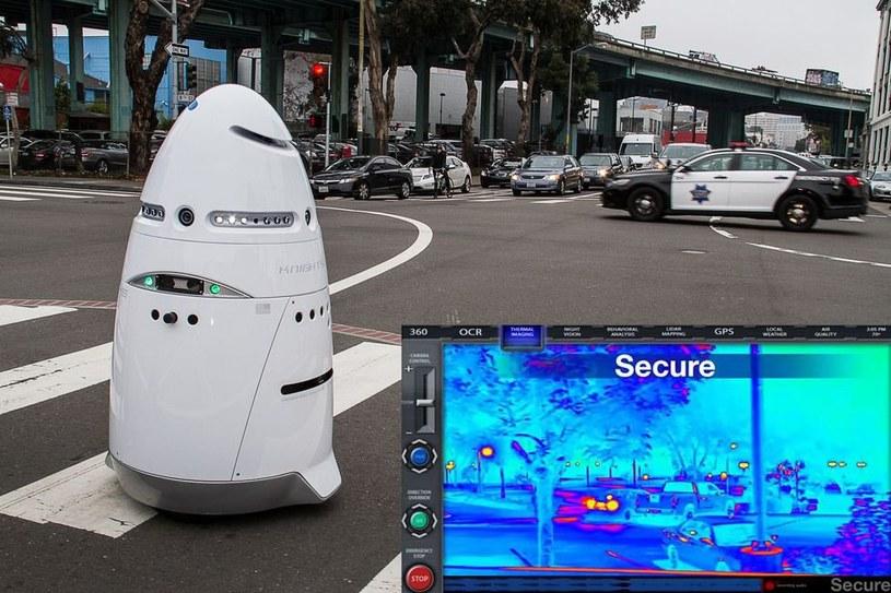 Robot Knightscope K5. Fot. Antinwoalliance.com /Komórkomania.pl