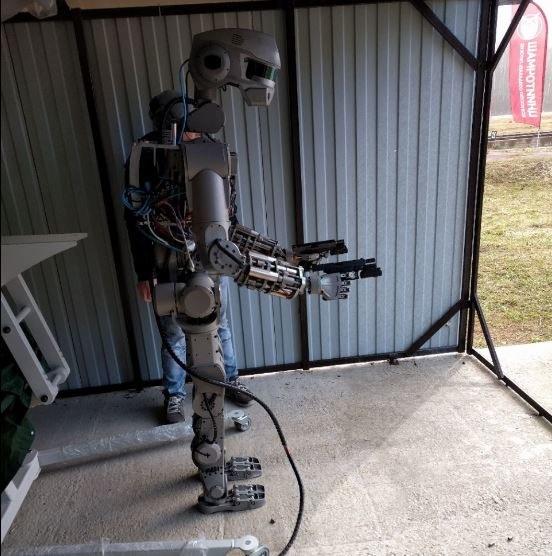 Robot ma być w przyszłości wysłany w kosmos /Instagram /Internet