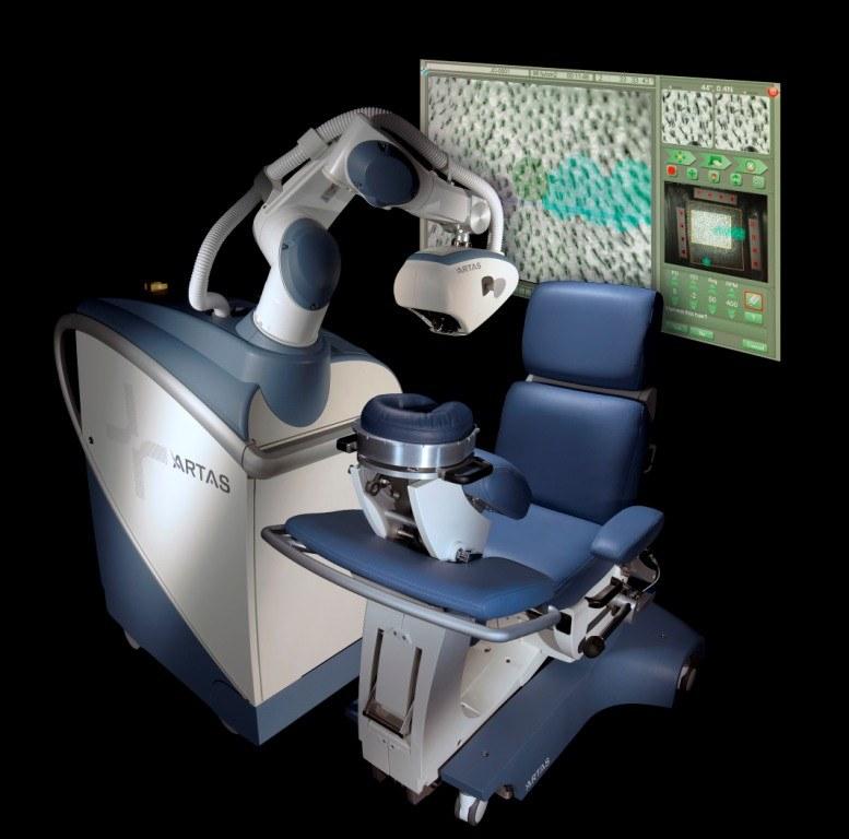 Robot medyczny ARTAS /materiały prasowe