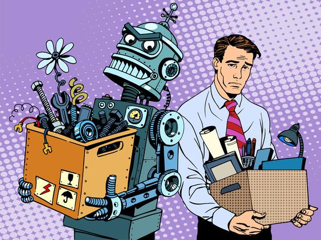 Robot - pracownik idealny? Nie prosi o podwyżkę, nie należy do związku, nie korzysta z przerw na papierosa /123RF/PICSEL