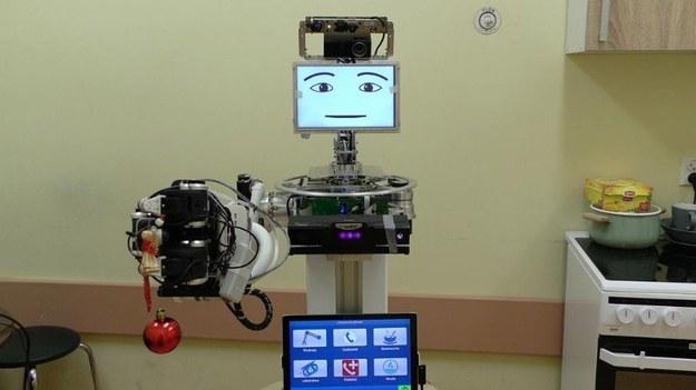Robot-przyjaciel osoby chorej na Alzheimera /Klinika Neurologii Uniwersytetu Medycznego w Lublinie /