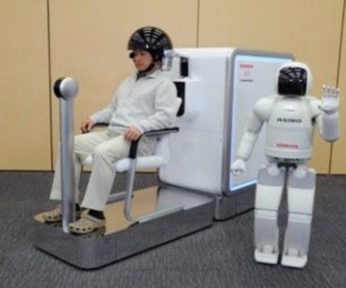 Robot sterowany myślą