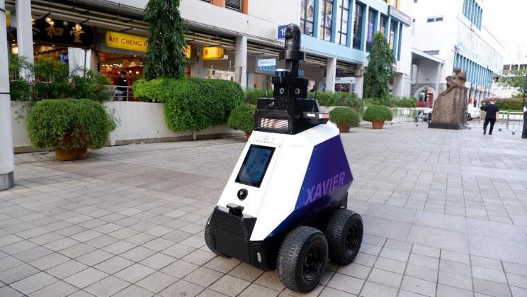 Robot Xavier /materiały prasowe