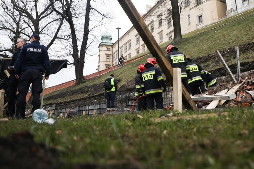 Robotnik zginął podczas prac remontowych przy Wawelu /Beata Zawrzel /Reporter
