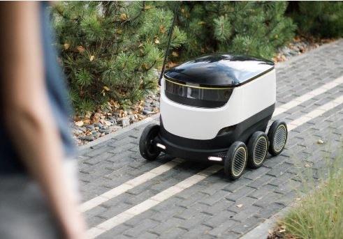 Roboty zastąpią kurierów i dostawców jedzenia między innymi w Londynie /materiały prasowe