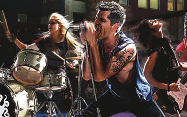 Rock Band 3 - motyw graficzny /Informacja prasowa