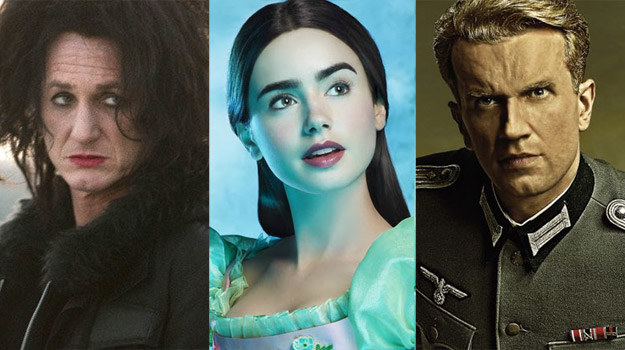 Rockowy Sean Penn, baśniowa Lily Collins czy gotowy na wszelkie wyzwania Kot-Kloss? /materiały dystrybutora