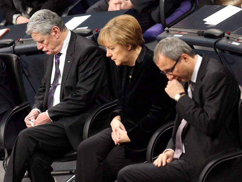 Rocznica wyzwolenia obozu Auschwitz w Bundestagu /PAP/EPA